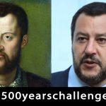 500 years challenge: Salvini vs Cosimo I de' Medici