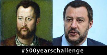 Salvini assomiglia a Cosimo de' Medici